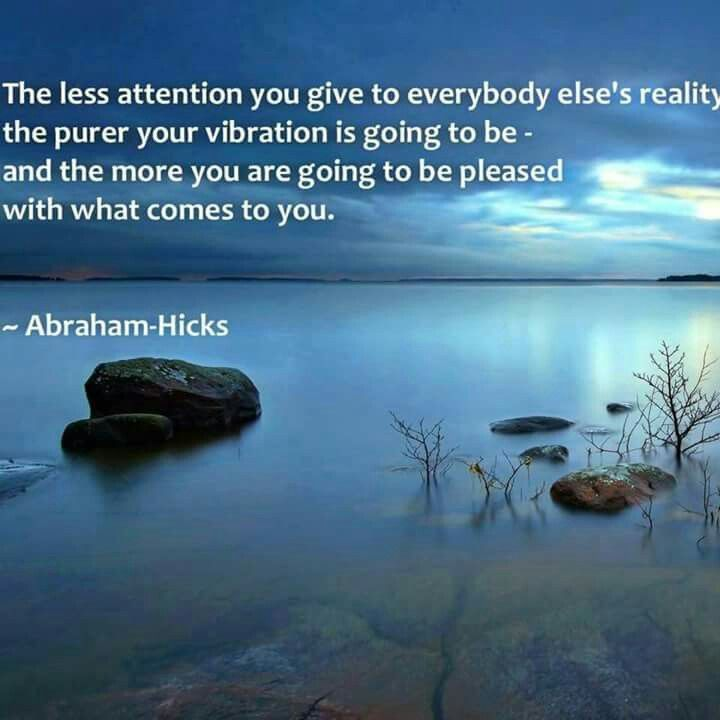 Abraham Hicks.... ROW YOUR OWN BOAT.... GO YOUR OWN WAY.... SMILE EVERY DAY FOR WHAT YOU FIND THERE