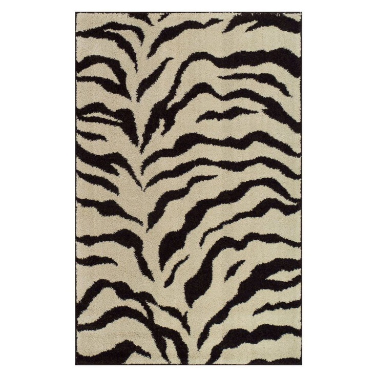 Grey Rugs Walk on the wild side with an animal print area rug decor