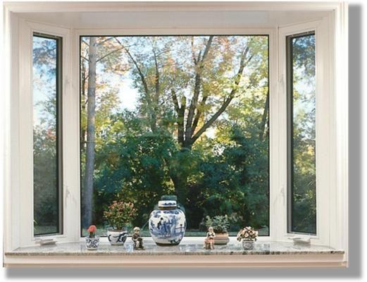 bay window glass