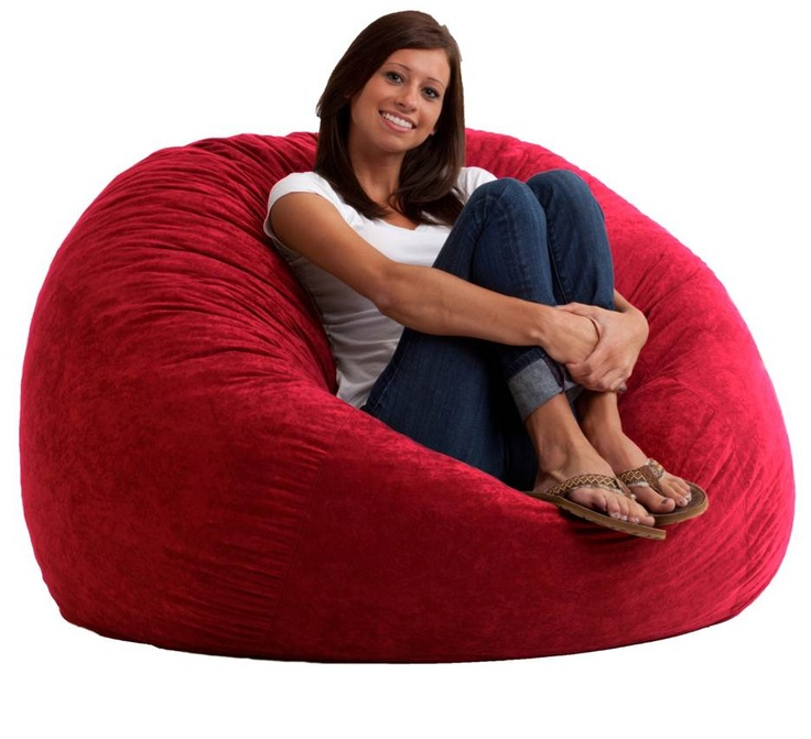 Large Foof Chair 4 Foot First Apartment Bean Bag