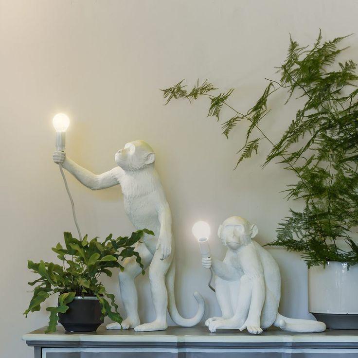 Lampe à poser Singe Assis H32cm - MONKEY