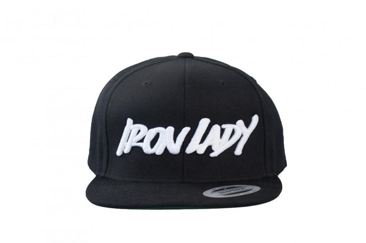 IronLady sapka - fekete