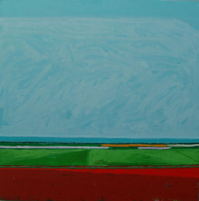 Bett Gallery Hobart - Patrick Grieve - Farmland Coastal Series No.39