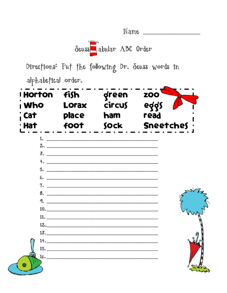 70 Best Images About Dr Seuss On Pinterest One Fish Two