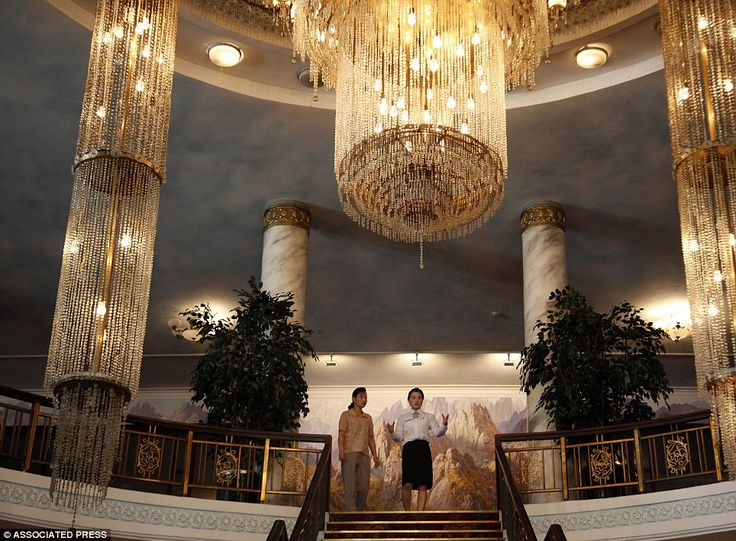 Chandeliers Mountain Views And An 18 Hole Golf Course But Would You Stay At A Luxury Holiday Resort Inside North Korea
