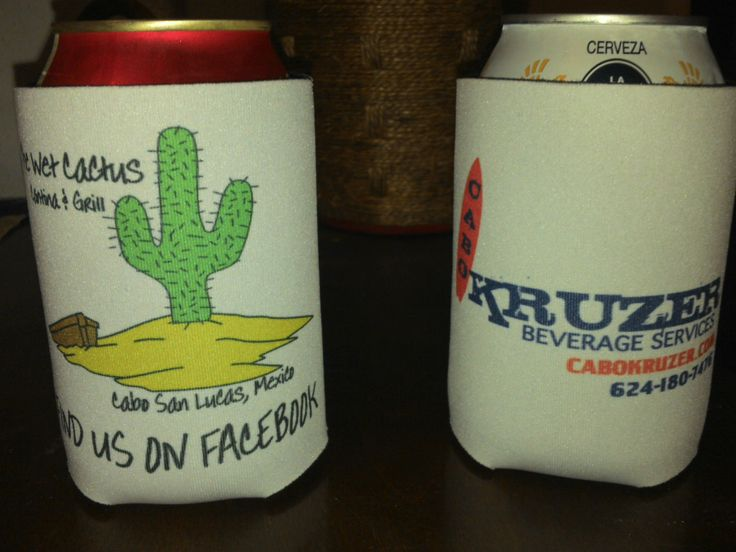 Our New Beer Koozies To Keep Your Cervezas Nice And Cold
