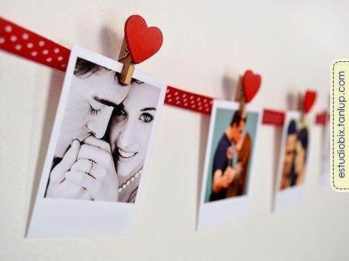 Varal de Fotos Polaroid  - Estúdio Bix