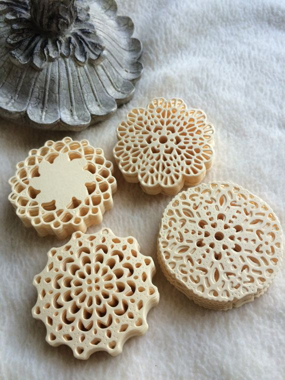 Mini Paper Doilies...100 Piece Set of Very Cute and Adorable