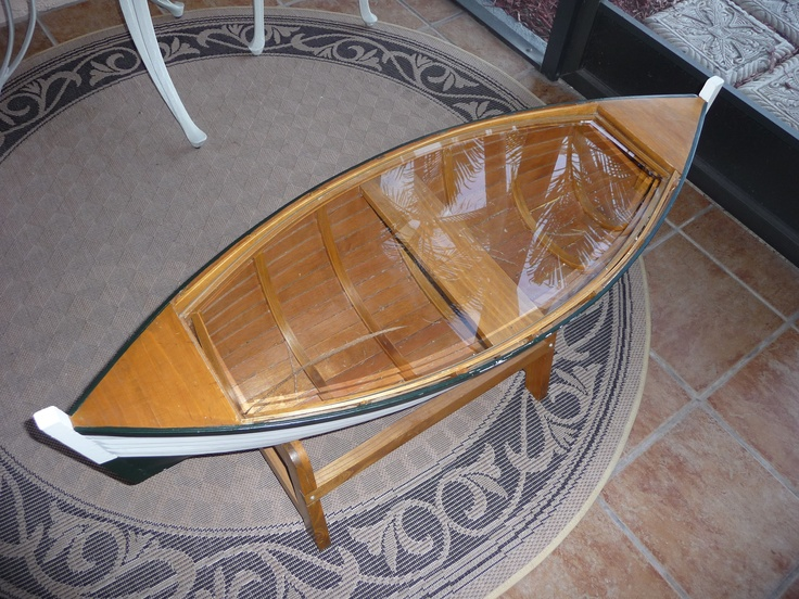 "FIND CUSTOM #GLASS #TABLE #TOP.  THIS ONE WAS CUSTOM MADE TO FIT THE BOAT SHAPE.  I SENT THEM A PATTERN TO THE SIZE THAT IT NEEDED AND WITHIN 2-3 WEEKS, THE GLASS WAS DONE.  I HAD THEM ADD  A 1"" BEVEL THAT WAS AN EXTRA CHARGE BUT WELL WORTH HAVING ON THE GLASS.  EMAIL TO BANDBSALES@CENTURYLINK.NET"