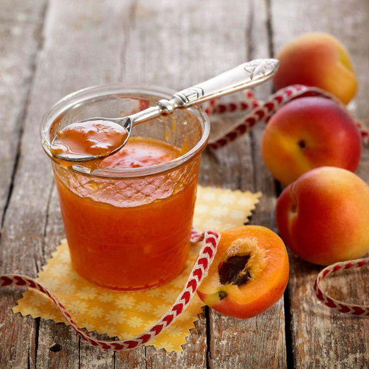 Découvrez la recette de la confiture d'abricot et gingembre