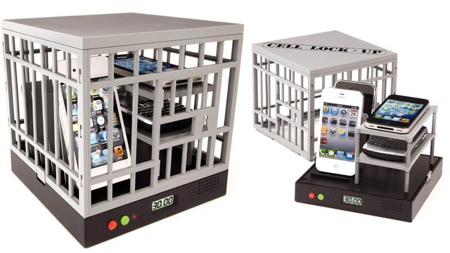 Cell Phone Prison w/ Alarm - Designed to Increase Family Time & Eliminate Distraction
