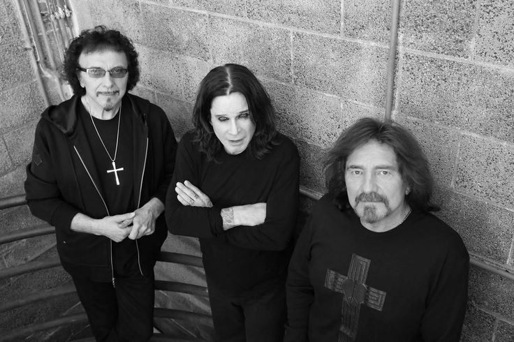 Tony Iommi, Ozzy Osbourne e Geezer Bluter