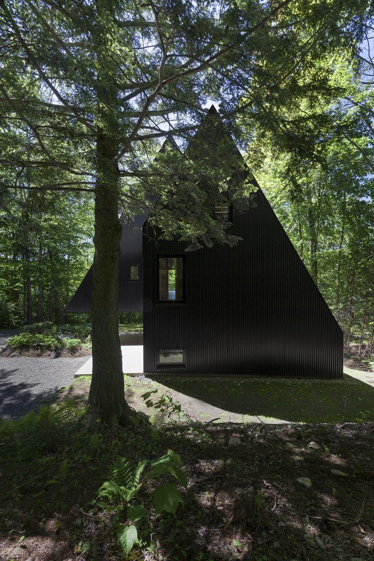 Galer 237 a de casa patio ar arquitetos 22 - Fahouse By Jean Verville Architecte In Eastern Townships Canada