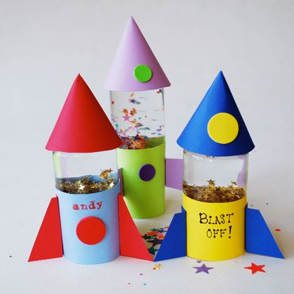 Buzz's Rocket Globes | Crafts | Spoonful