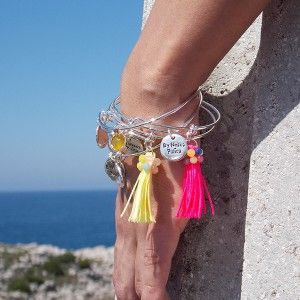 ❤ ComBy Boho Glam Plata ❤ #pulseras #boho #hippiechic #summer