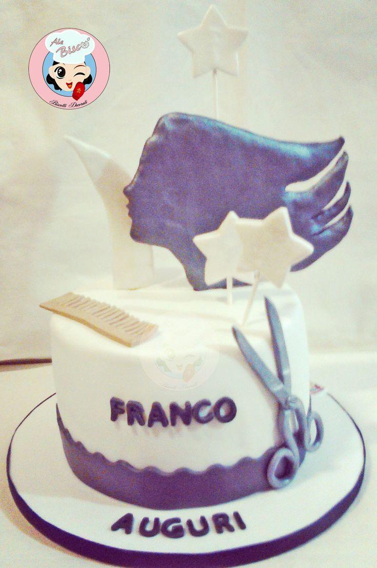 Torta Parrucchiere #cakedesign #birthdaycake