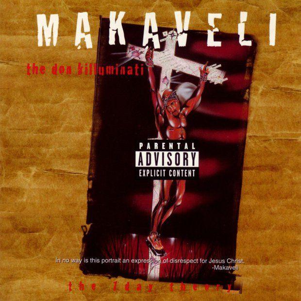 As 14 melhores ilustrações de capas de álbuns do Hip-Hop | 2pac - The Don Killuminati: The 7 Day Theory