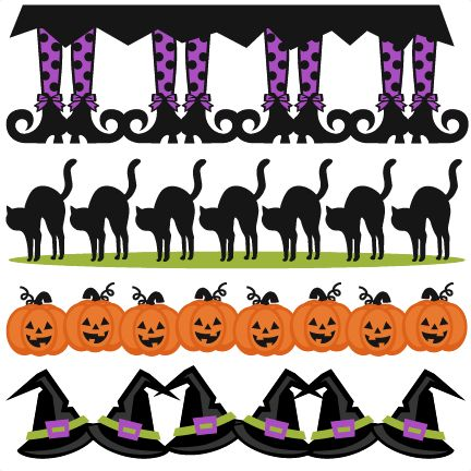 halloween borders svg scrapbook cut file cute clipart files for silhouette cricut pazzles free svgs free