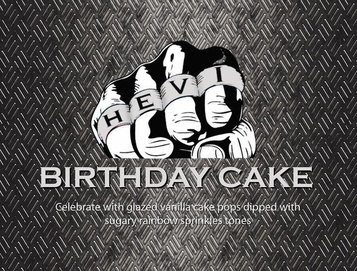 Hevi Vape Birthday Cake www.hevivape.com