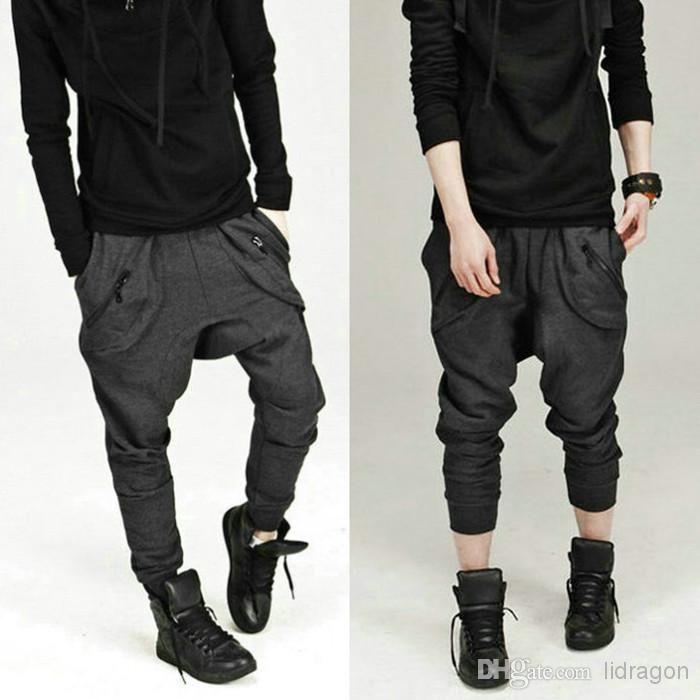 Wholesale Dance Pants - Buy Men Women Unisex Harem Baggy Sweat Pants Athletic Sporty Casual Tapered Sport Hip Hop Dance Trousers Slacks Jogg...