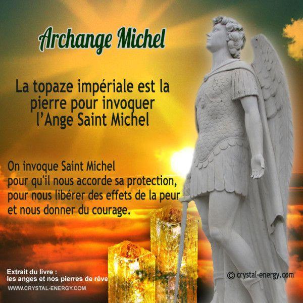 On invoque Saint Michel pour qu'il nous accorde sa protection, pour nous libérer des effets de la peur et nous donner du courage.