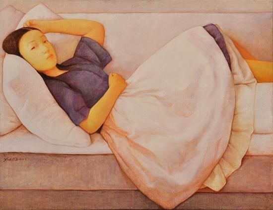 2002 RESTING, Xue Mo (b1966, Inner Mongolia, China; since 2011 based in Canada)