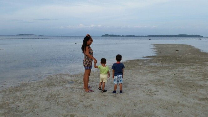 My family, small liguid and big liguid islands