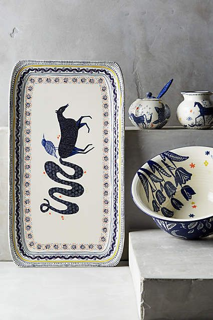 Saga Serveware - anthropologie.com