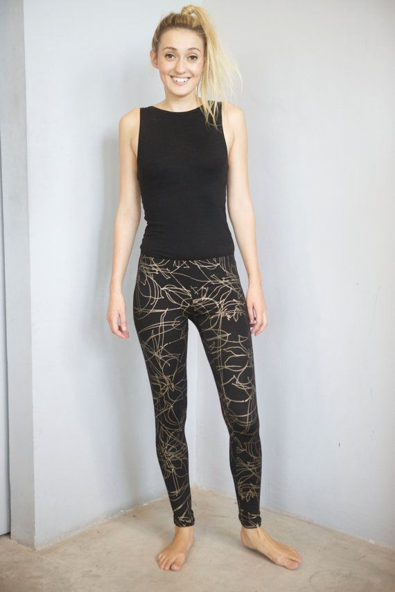 You know you love it Leggings by frank on Etsy, $55.00