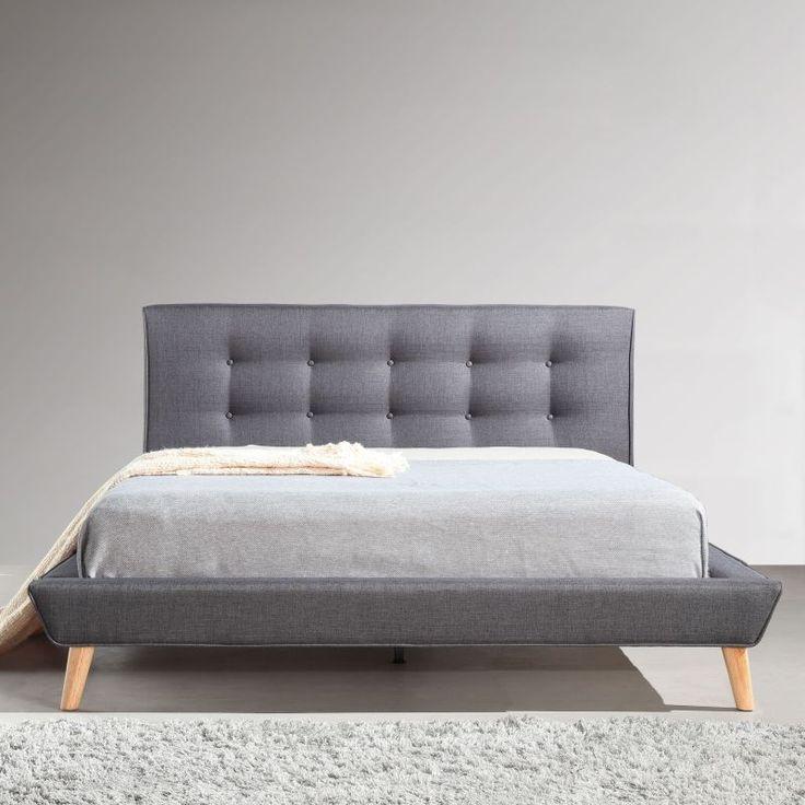best 25 tufted bed frame ideas on pinterest tufted bed grey upholstered bed and upholstered. Black Bedroom Furniture Sets. Home Design Ideas