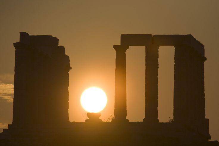 This shot is really amazing! #CapeSounio #Greece Photo credits: Uzi Yachin