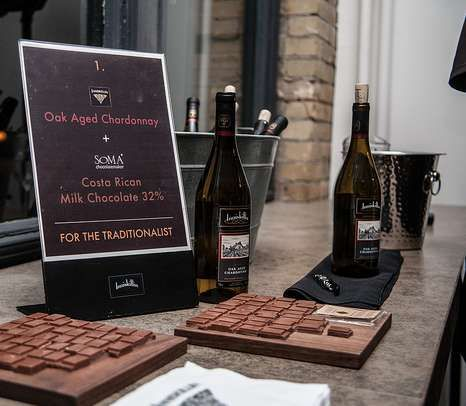 Wine & Chocolate Pairings - Inniskillin Teams Up with SOMA Chocolatiers