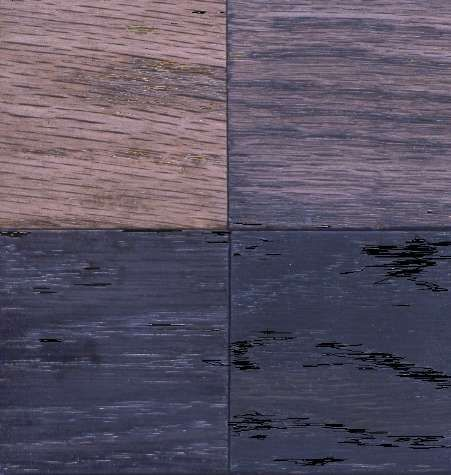 Homemade Ebony Wood Stain using Common Household Ingredients -  several recipes & methods explained.