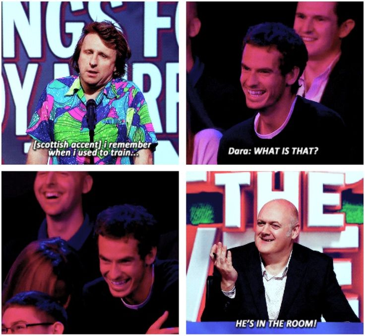 Unlikely things for Andy Murray to think | Milton Jones | Mock the Week