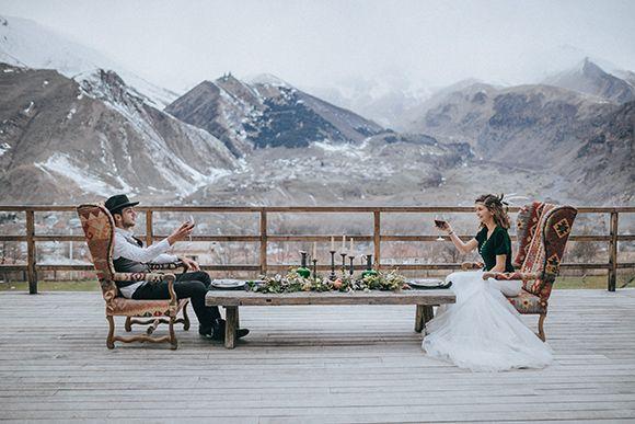 Scenic Mountain Wedding in Georgia