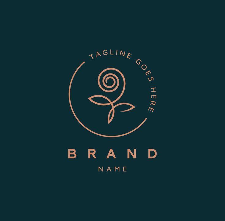 Exclusive Logo 136756, Rose Logo