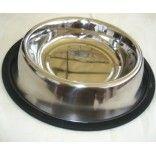 Comedero/bebedero para perro en acero inoxidable y base antideslizante. http://prunasdogshop.com/comederos-y-bebederos/103-comederobebedero-para-perro-en-acero-inoxidable.html
