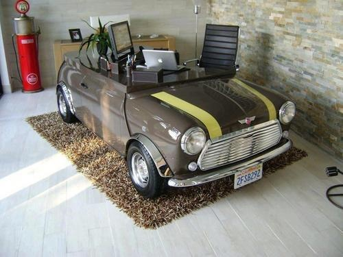 Furniture, Simple Home Office Desk Design For Private Space Room Design  Ideas With Mini Cooper Desk Design For Home Office Design Ideas With Home  Office ...