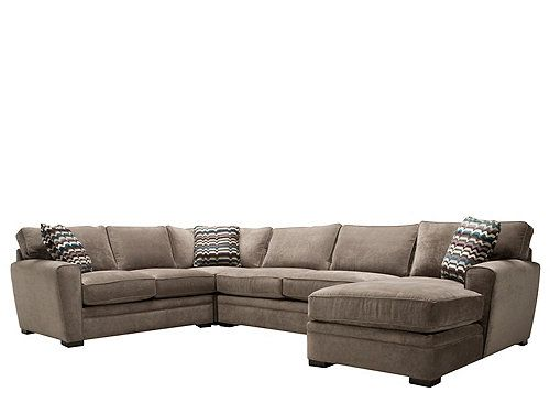 microfiber sectional sofa sectional sofas raymour and flanigan house ideasliving room