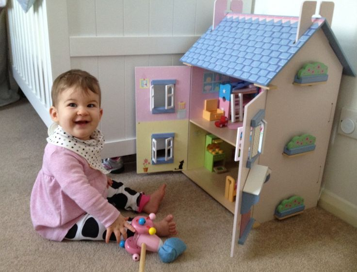 Here is the winner of our Dolls House Competition that was won earlier this year!