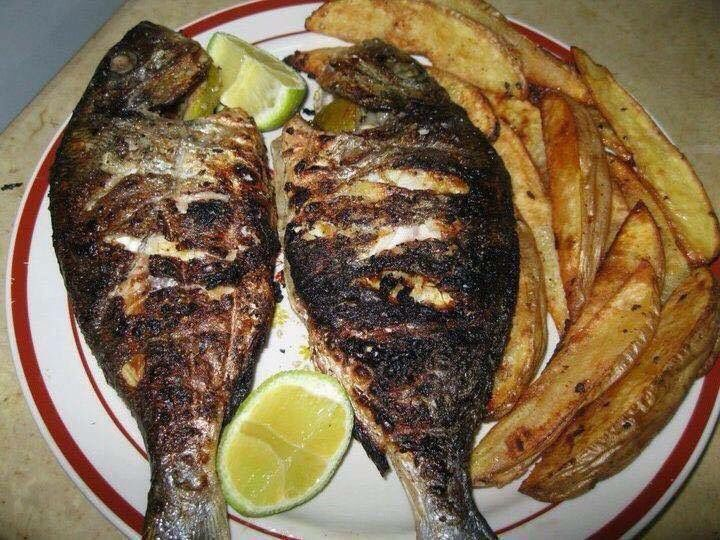 Fish Amp Chips Tunisian Style Tunisian Recipes Pinterest Fish