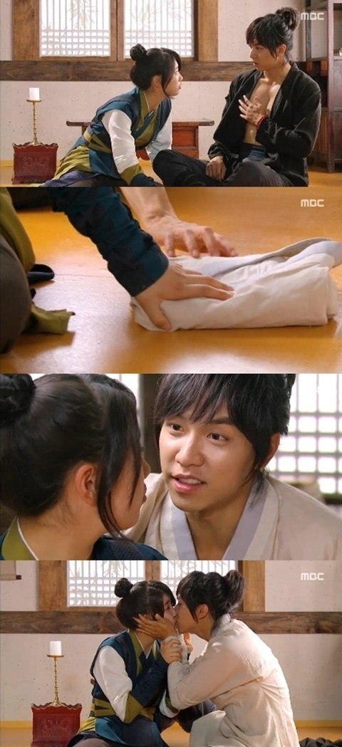 'Gu Family Book' Lee Seung Gi and Bae Suzy Kissing at Every Chance They Get ♥.♥