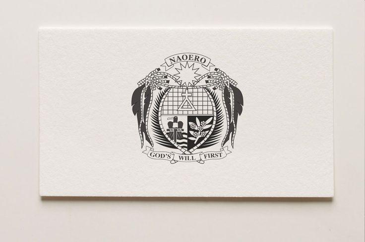 Nauru Emblem - logo development, adjustment and re-creation
