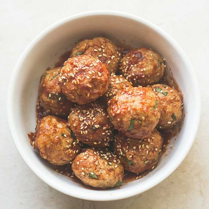 Spicy Asian Salmon Meatballs http://www.prevention.com/food/6-uses-for-canned-salmon/spicy-asian-salmon-meatballs
