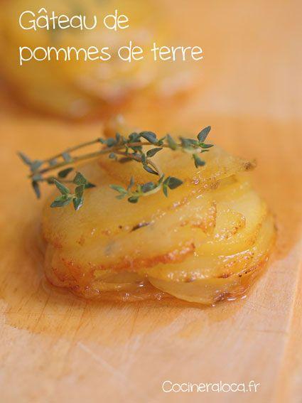 Gâteau de pommes de terre ©cocineraloca.fr