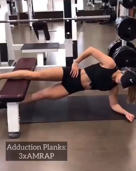 Glute and ab workout