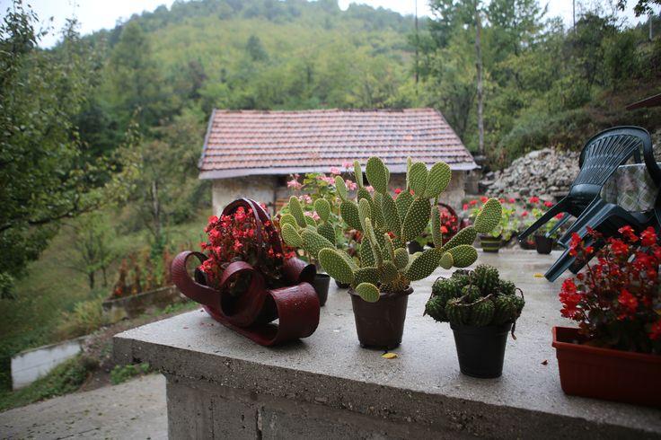 Konjic'te bir köy - Bosna Hersek