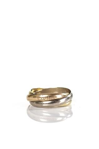 Cartier Trinity gold band   OWN THE COUTURE   Canada's luxury designer consignment online boutique