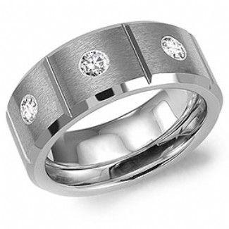 Crown Ring - Collections Alternative Metal Tungsten Carbide Tu 5502