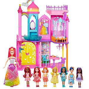 Check out the Barbie Dreamtopia Gift Set (FNF76) at the official Barbie website. Explore all Barbie toys and gear now!